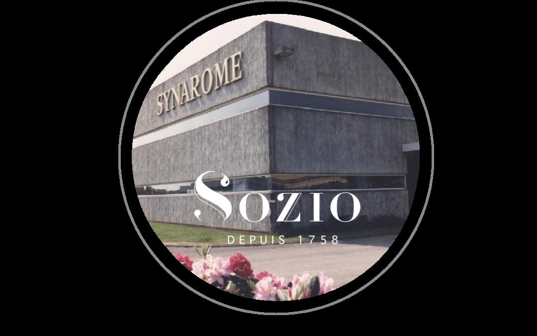 SYNAROME A REJOINT SOZIO POUR RENFORCER SES ACTIVITÉS DANS LE DOMAINE DES INGRÉDIENTS DE PARFUMERIE !